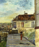 Chaudoin House By Maurice Utrillo