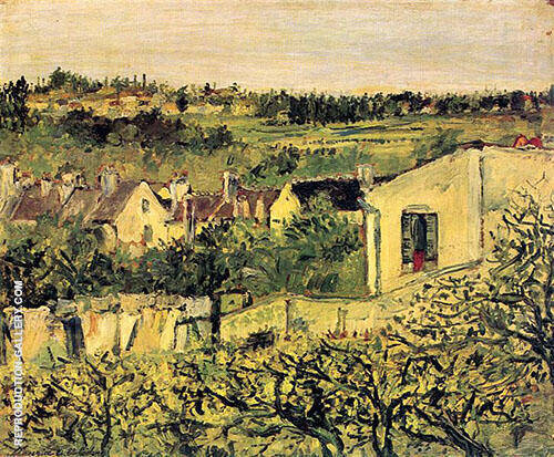 Reproduction of La Butte Pinson 1906 by Maurice Utrillo | Oil Painting Replica On CanvasReproduction Gallery