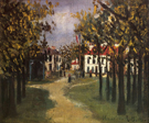 La Butte Pinson a Montmagny 1910 By Maurice Utrillo