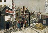 La Maison Bernot 1924 By Maurice Utrillo