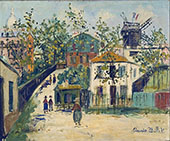 Montmartre 1930 By Maurice Utrillo