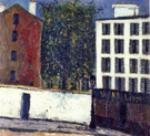 Montmartre Street 1912 By Maurice Utrillo