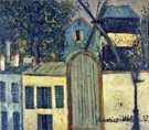 Moulin De La Galette 1912 By Maurice Utrillo