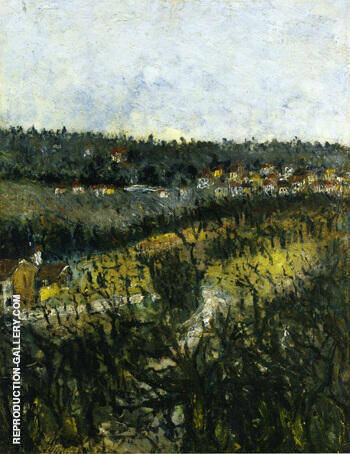 Near Montmagny 1908 By Maurice Utrillo