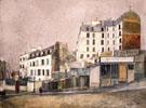 Paris Rue Ravignan 1913 By Maurice Utrillo