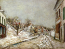 Pontoise 1912 By Maurice Utrillo