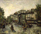 Porta Saint Martin in Parigi 1908 By Maurice Utrillo