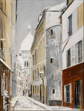 Sacre Coeur By Maurice Utrillo