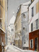 Sacre Coeur By Maurice Utrillo