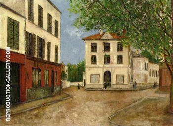 Street in Nanterre 1913 By Maurice Utrillo
