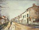 Suburban Street Scene 1910 By Maurice Utrillo