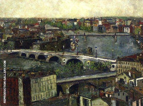The Bridge of Toulouse 1909 Painting By Maurice Utrillo
