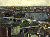 The Bridge of Toulouse 1909 By Maurice Utrillo