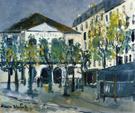 The Theatre de I Atelier 1913 By Maurice Utrillo