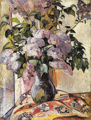 Lilac 1906 By Natalia Goncharova Replica Paintings on Canvas - Reproduction Gallery