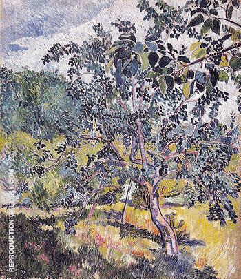 Corner of a Garden 1906 By Natalia Goncharova