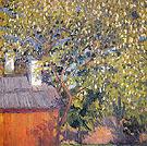 Blossoming Tree 1906 By Natalia Goncharova