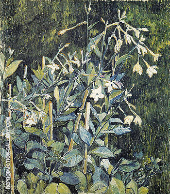Tobacco 1907 By Natalia Goncharova Replica Paintings on Canvas - Reproduction Gallery