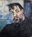 Portrait of the Artist Pyotr Lvov 1908 By Natalia Goncharova