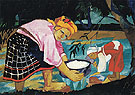 Peasant Women 1910 By Natalia Goncharova