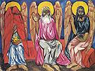 Trinity c1909 By Natalia Goncharova