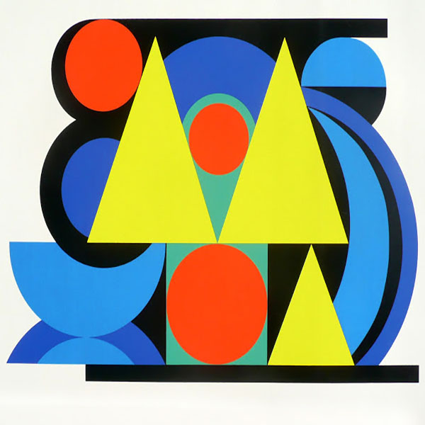 Oil Painting Reproductions of Auguste Herbin