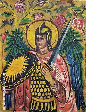 Archangel Gabriel c1909 By Natalia Goncharova