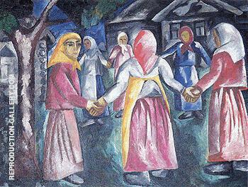 Reel 1910 By Natalia Goncharova