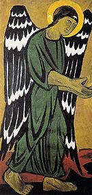 Archangel In Green By Natalia Goncharova