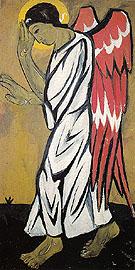 Archangel In White By Natalia Goncharova