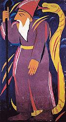 Prophet 1911 By Natalia Goncharova