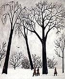 Winter 1911 By Natalia Goncharova