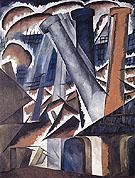 Factory 1912 By Natalia Goncharova