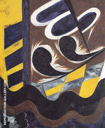 Electric Ornamental Design 1914 By Natalia Goncharova