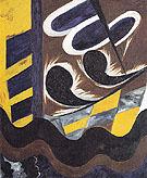 Electric Ornamental Design 1914 By Natalia Goncharova