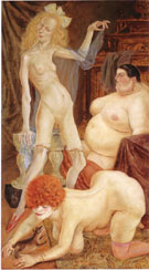 Three Wenches 1926 By Otto Dix