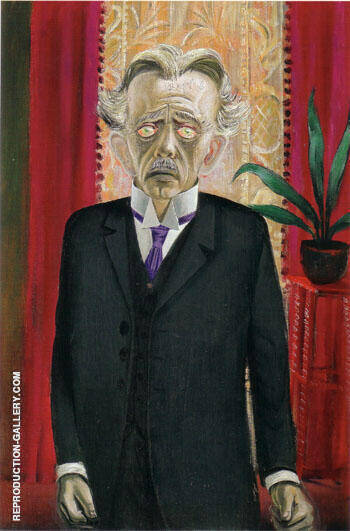 Dr Heinrich Stadelmann 1920 Painting By Otto Dix - Reproduction Gallery
