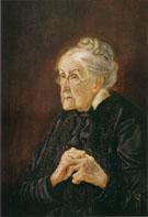 Helene Lange 1925 By Otto Dix