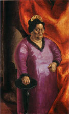 The Art Dealer Johanna Ey 1924 By Otto Dix