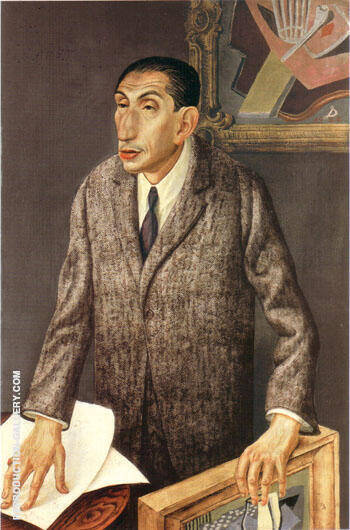 The Art Dealer Alfred Flechtheim 1926 By Otto Dix