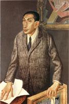 The Art Dealer Alfred Flechtheim 1926 By Otto Dix