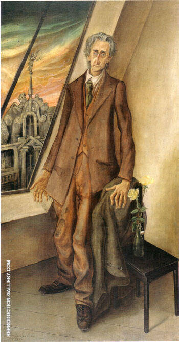 The Poet Iwar von Lucken 1926 By Otto Dix