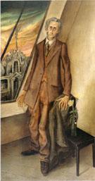 The Poet Iwar von Lucken 1926 By Otto Dix