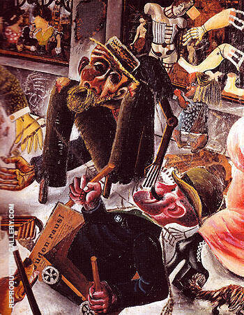 Prager Strasse 1920 By Otto Dix
