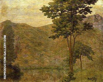 Green Landscape c1901 By Auguste Herbin