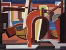 La Barque 1927 By Auguste Herbin