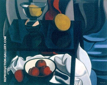Nature Morte Aux Fruits 1937 By Auguste Herbin
