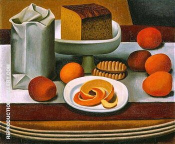 Still Life c1920 Painting By Auguste Herbin - Reproduction Gallery