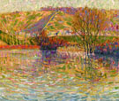 The Coast at Haute Isle c1906 By Auguste Herbin