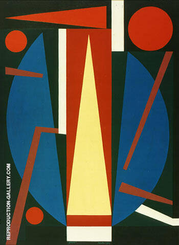 Germe 1954 By Auguste Herbin